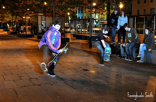 Cork At Night Skateboarders October 2011 265