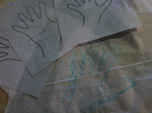 dec 2011: family hands in process