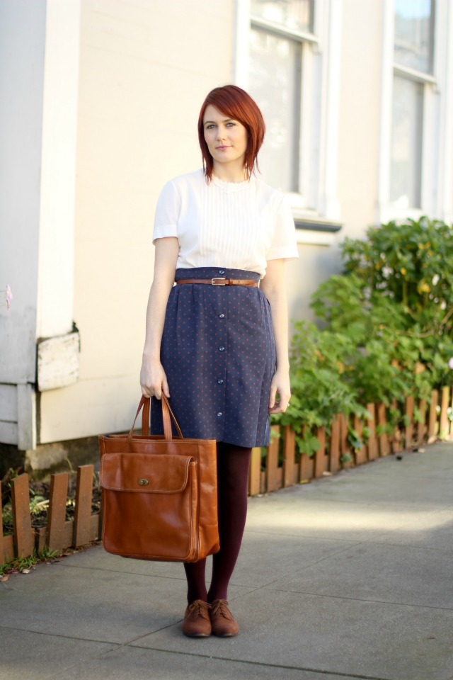 APC madras silk skirt 1