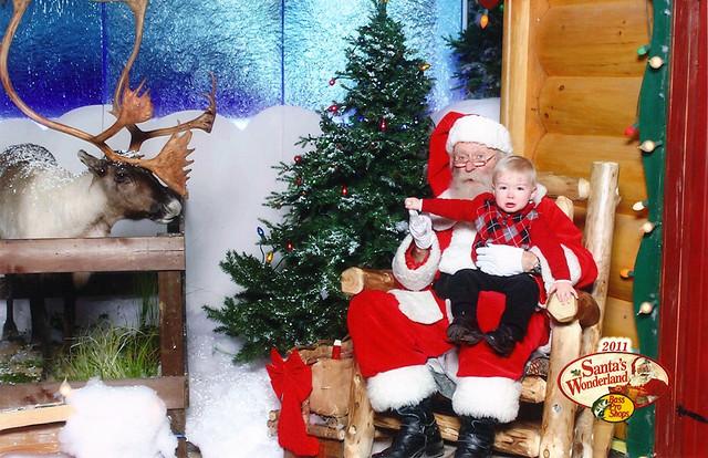 Santa & Braden 2011