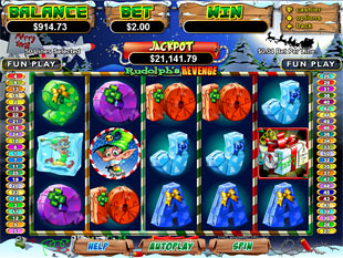 Play Rudolphs Revenge Slot Machine Free with No Download