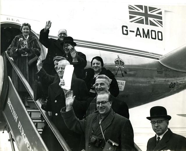Leningrad delegates, 1956