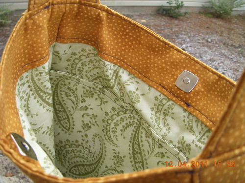 Interior Teardrop Bag
