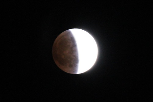 皆既月食 total eclipse of the moon