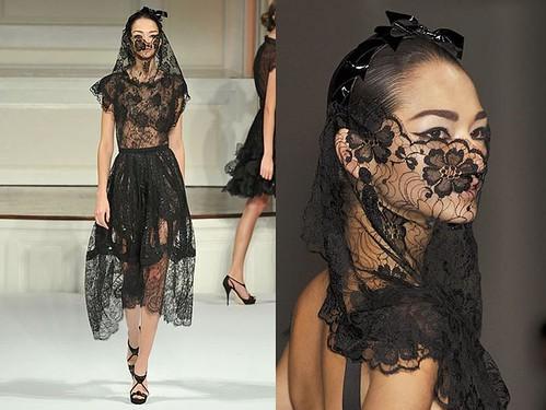 Oscar-de-la-Renta-primavera-vestido-negro-velo