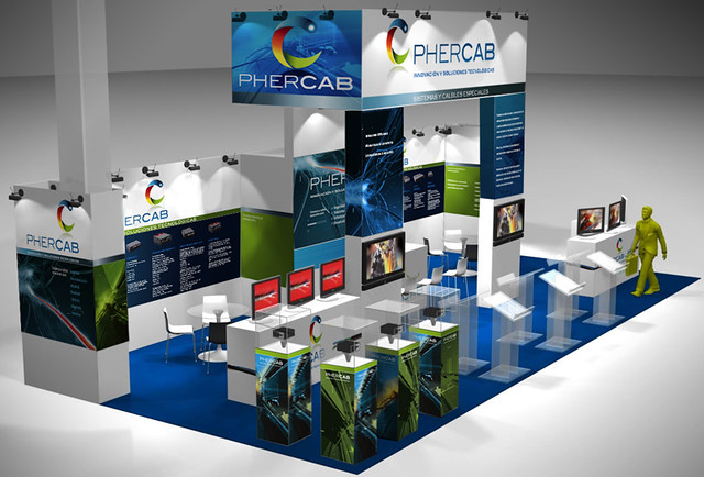 Phercab_stand