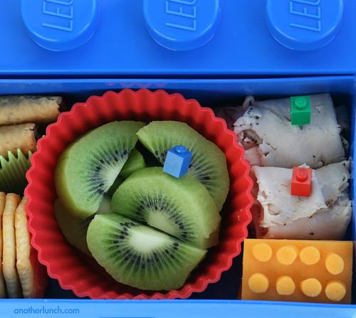 Lego Bento inside