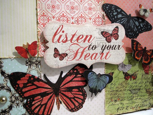 Listen To Your Heart Clock (detail1)