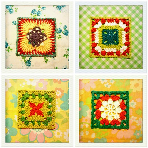 313-316::365 squares with orange