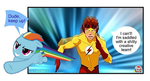 Rainbow Dash vs. Kid Flash