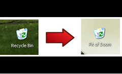 Rename the Recycle Bin in Windows XP