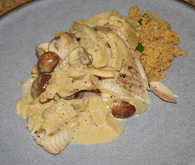 Tilaipa with Mustard Cream