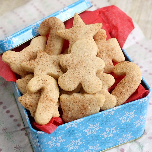 Eggnog Cut-Out Sugar Cookies