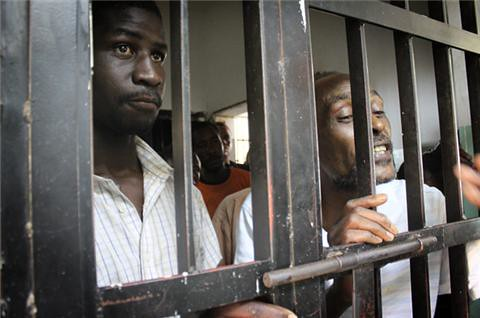 Africans held prisoner in the US-led and trained occupied Libya. by Pan-African News Wire File Photos