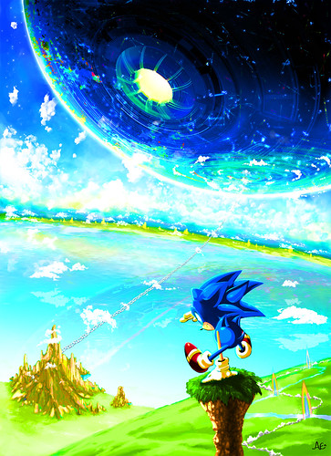 Anna E - Sonic CD Fan Art Contest US Winner