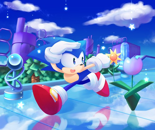 Anne G - Sonic CD Fan Art Contest US Winner