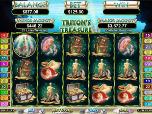 Triton's Treasure Slot Machine