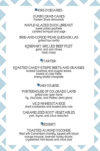 Rhodeshia\'s blog: Winter wedding food should be warm comforting but ...