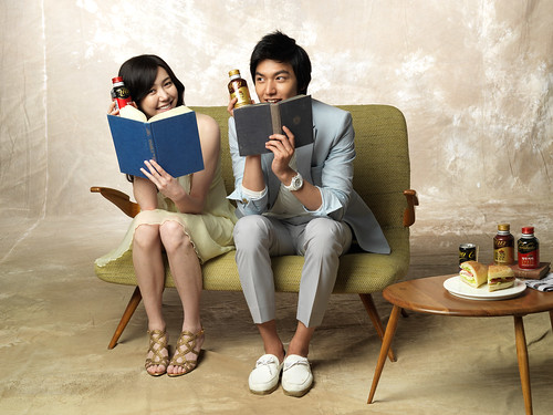 Lee Min Ho Cantata Coffee Photos