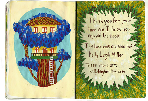 Treehouse painting