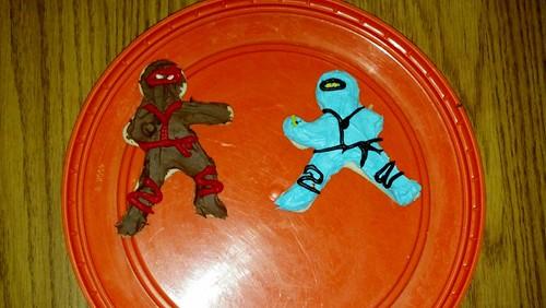 Ninja Christmas cookies