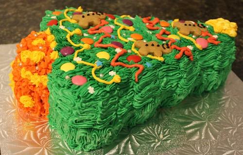 Christmas Tree Cake - 4