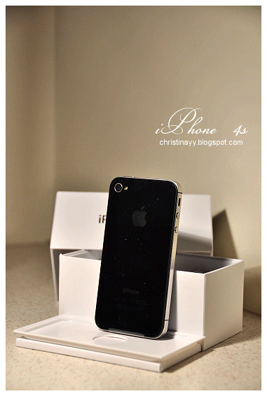 Apple iPhone 4S (Black)