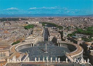 Panorama daila Basilica di S. Pietro