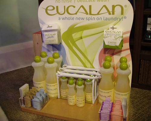 eucalan display
