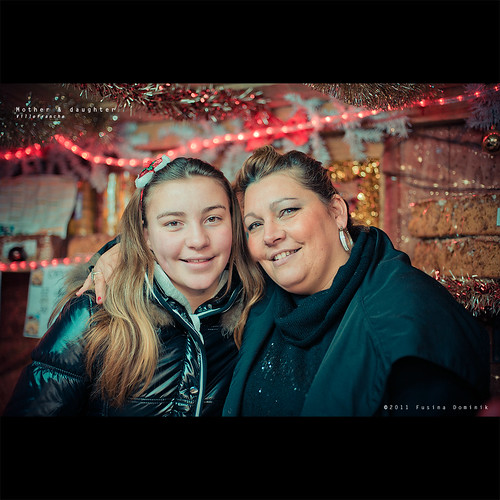 Mère et fille | Villefranche