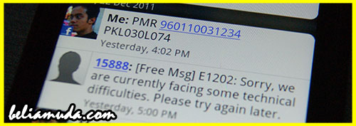 Result PMR 2011 SMS