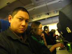 Self-Portrait, Row 58 (N180UA, SFO-HKG)
