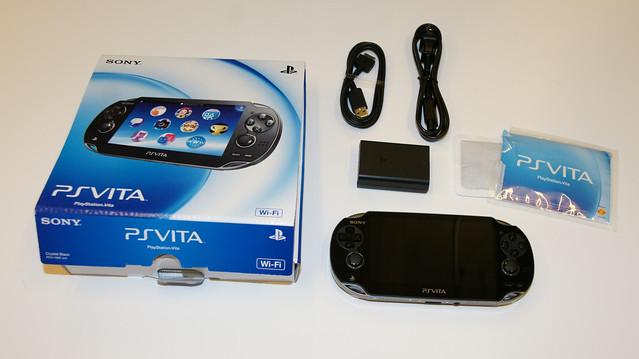 PS Vita Unboxed