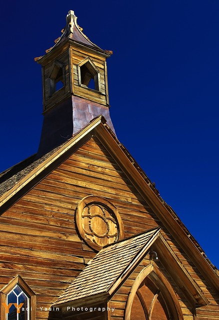 The Church of Bodie Ghost Town
