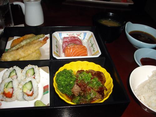 Bento Box with Miso & Rice