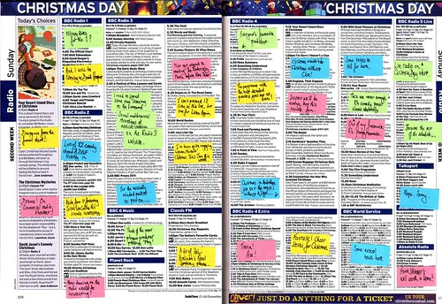 Radio Times 25 December 2011 (Radio)
