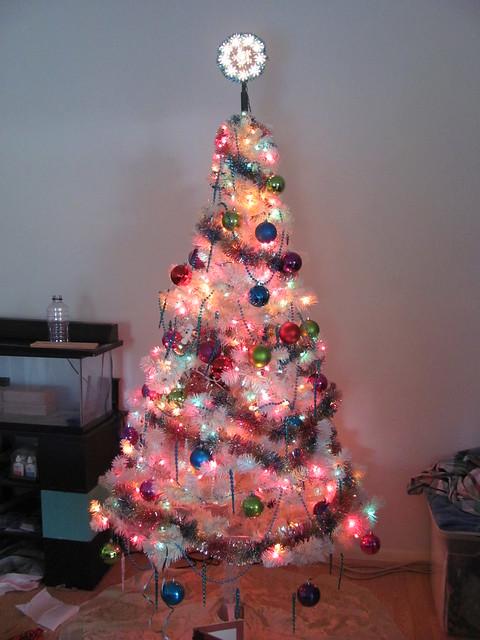 Christmas tree 2011 day lit