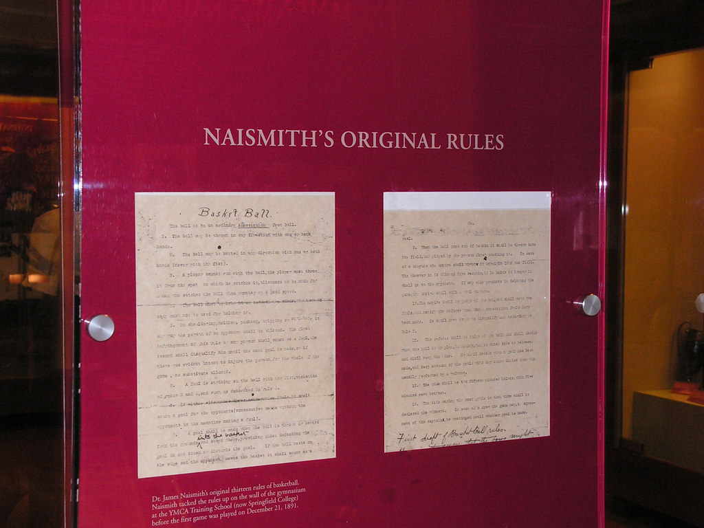 Original Rules of Basketball Exhibit, Basketball Hall of Fame