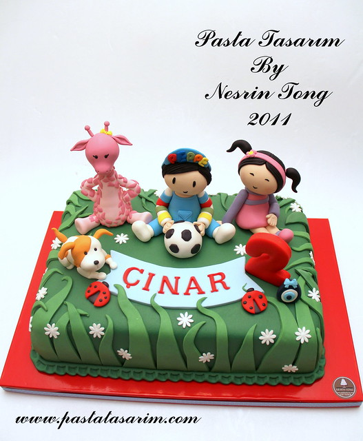 peppe cake- ÇINAR 2ND BIRTHDAY CAKE