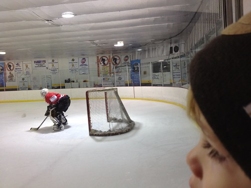 Christmas Eve at the rink