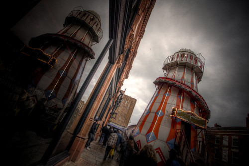 870/1000 - Helter Skelter in Chester by Mark Carline