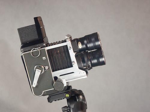 Mamiya C3, Sekor 180 mm.