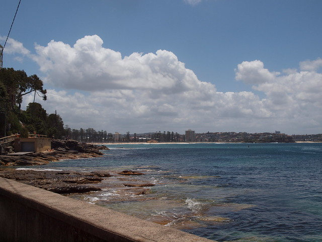 looking back to manly