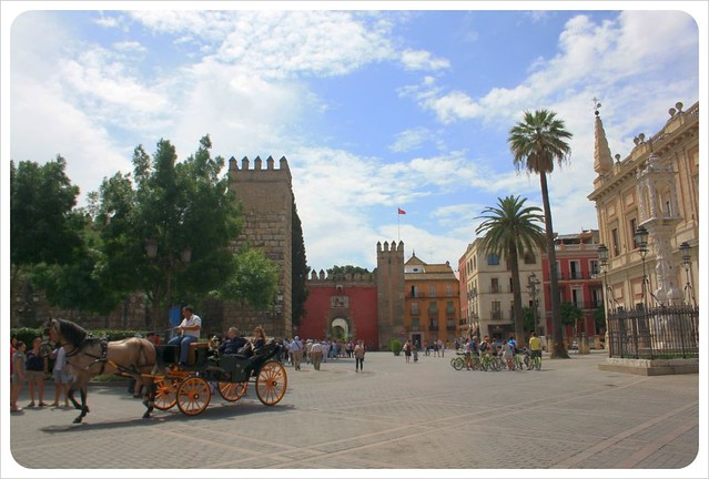 seville plaza & horse drawn carriage