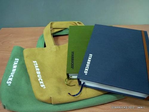 20111228 星巴克龍年新品-集錦4非賣品年曆