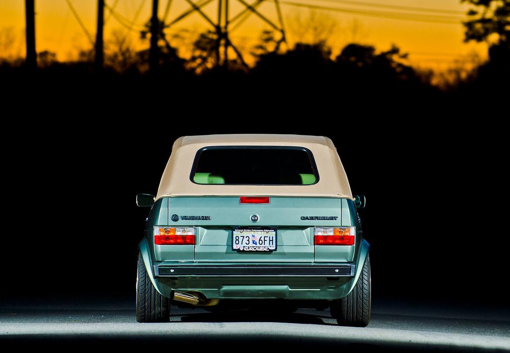 VWVortex.com - 1986 Cabriolet - BBS RS - VR6 - Custom Recaro interior - North Carolina
