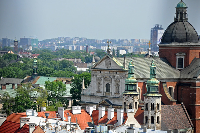 View from Sigismund Tower by Flickr CC Jennifer Boyer