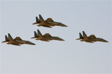 US F-15 fighterjets sold to the Saudi Arabia monarchy. A new $30billion arms deal between Washington and Riyadh has escalated tensions with the Islamic Republic of Iran. by Pan-African News Wire File Photos
