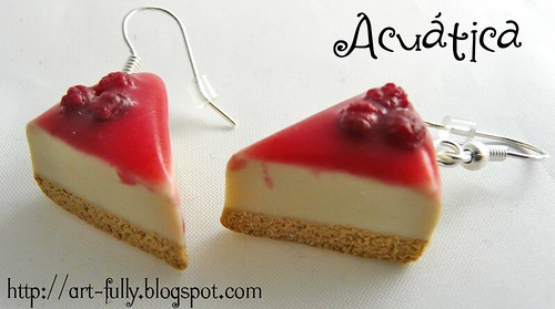 Pendientes cheesecake