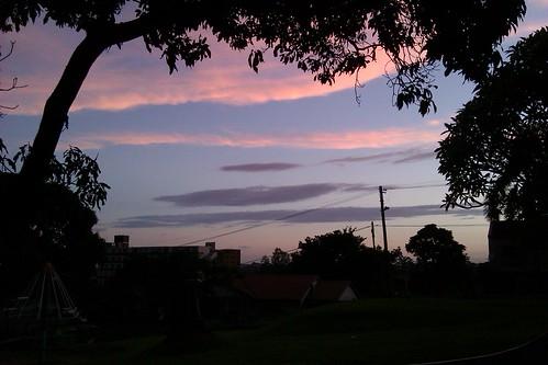 2nd Last Sunset Of 2011